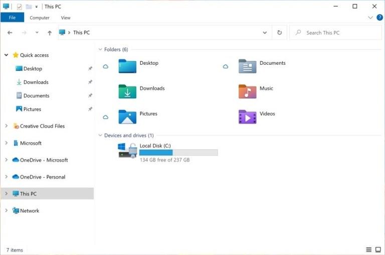 חלונות 11 Windows סייר הקבצים